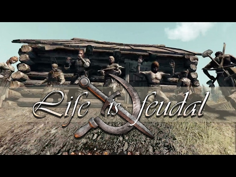 Life is Feudal - Building My Home (New Update Fixes Issues)