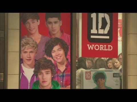 One Direction pop-up store pops up at the O2