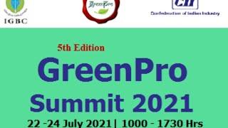 Session 4 GreenPro Summit 2021