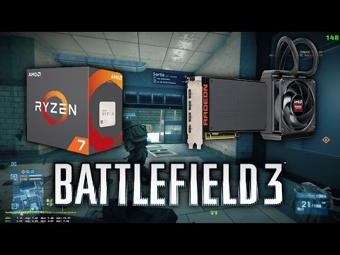 AMD Ryzen 7 1700X + AMD Radeon R9 Fury X - Battlefield 3 Multiplayer