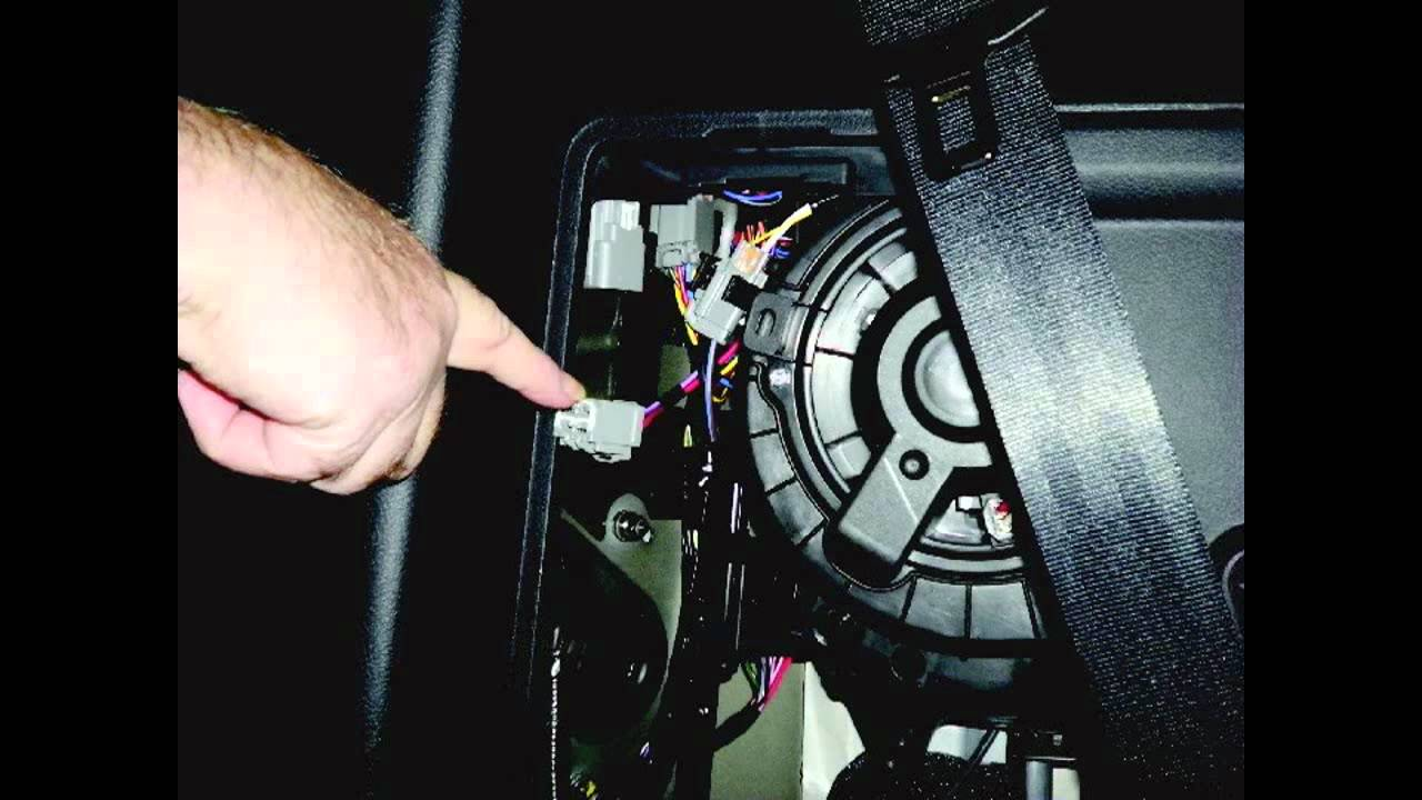 Installing A Trailer Wiring Kit On Land Rover Lr4 Youtube Towing Diagram