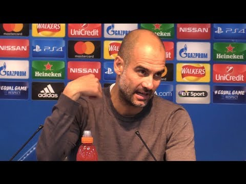 Manchester City 2-1 Napoli - Pep Guardiola Full Post Match Press Conference - Champions League