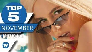MUSIK CHARTS 2018 IM NOVEMBER – Die besten Musikvideos I #LäuftBeiEuch