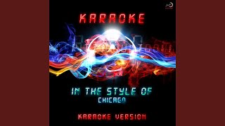 I Don't Wanna Live Without Your Love (Karaoke Version)