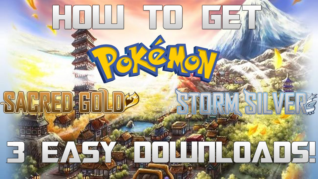 Pokemon sacred gold rom download free