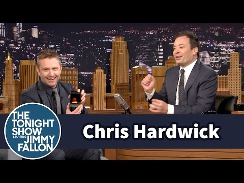 Chris Hardwick Proposed to His Fiancée with a Candy Ring