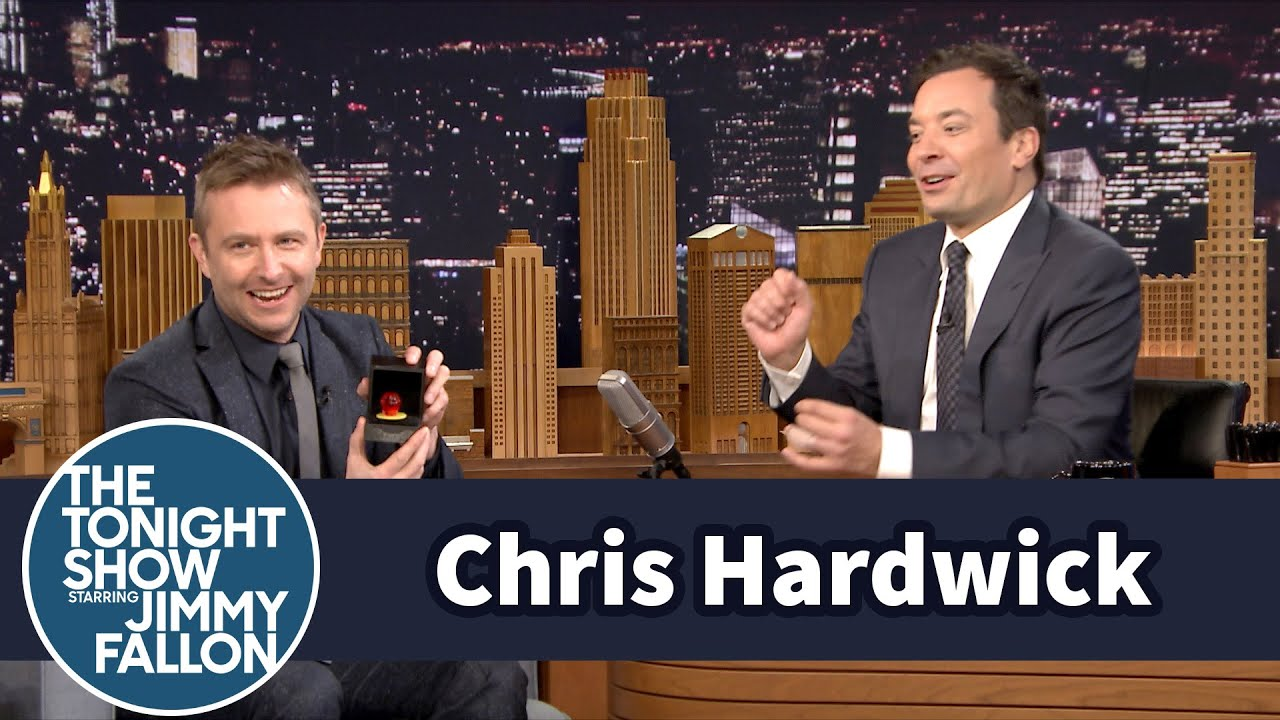 Chris Hardwick Proposed to His Fiance with a Candy Ring YouTube