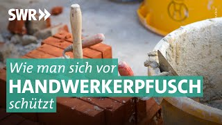 Handwerkerstichprobe: Pfusch oder Qualitätsarbeit beim Fliesenlegen?