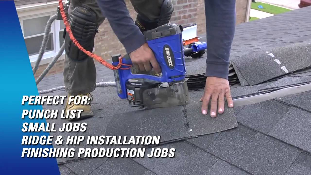Duo Fast Cordless Roofing Nailer   Punch List Work