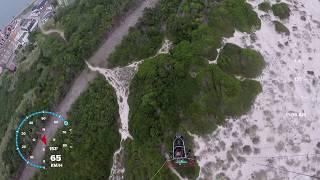 Voando entre Praia da Barra e Costa Nova do Prado Ilhavo Portugal