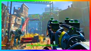 FALLOUT 4 FREE ROAM GAMEPLAY - Over Level 30, Exploring Vaults, Combat MORE Fallout 4 Gameplay
