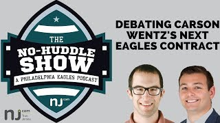 Debating Carson Wentz's next Eagles contract, plus Howie Roseman takeaways and NFL Draft takes (Ep.