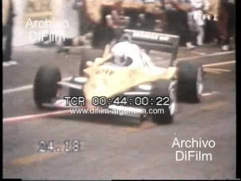 DiFilm - Prost gana Grand Prix Formula 1 de Francia (1983)