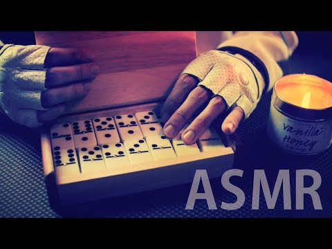 [ASMR] CLICKY Dominoes - FRENCH Whispering