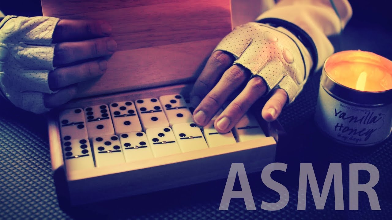 ASMR DOMINOES Satisfying CLICKY Sounds