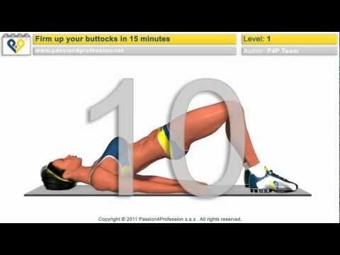 Ноги, попа и бедра тренировки - интенсивные упражнения
