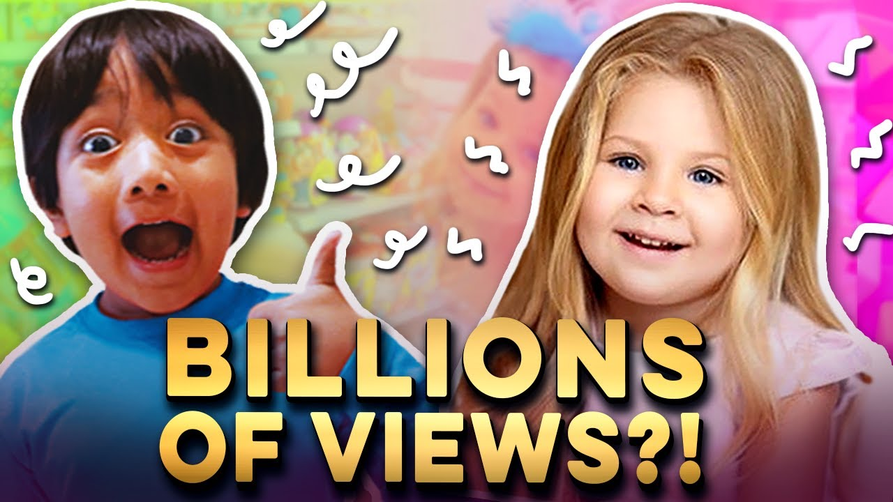 Will Kids be the First Billionaires on YouTube?