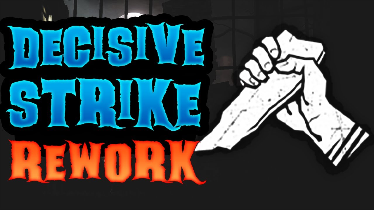 DECISIVE STRIKE REWORK SHOWN! NEW STRATEGIES AND TRICKS! - Dead by Daylight