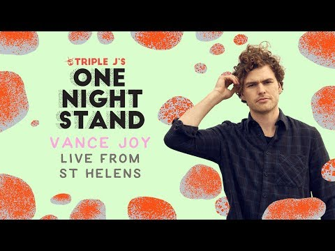 Vance Joy live at triple j's One Night Stand St Helens 2018