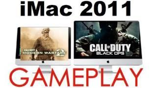 imac 27 2011 black ops mw2 multiplayer gameplay demo