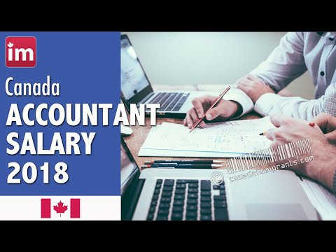 Accountant Salary in Canada (2018) - Wages in Canada