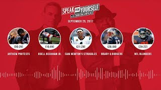 SPEAK FOR YOURSELF Audio Podcast (9.25.17) with Colin Cowherd, Jason Whitlock | SPEAK FOR YOURSELF