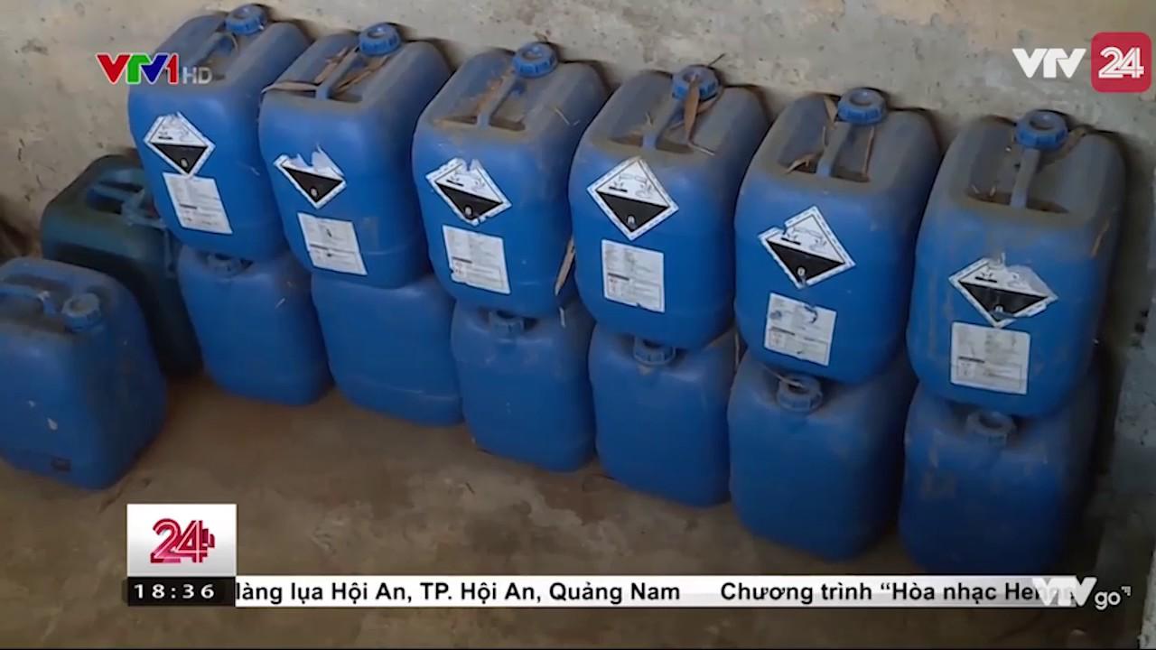 Nước thải nhà máy giấy bức tử sông mã   VTV24