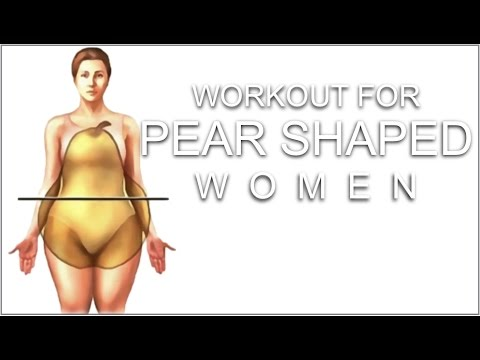 Workout for Pear Shaped Women // How To Slim the Thighs