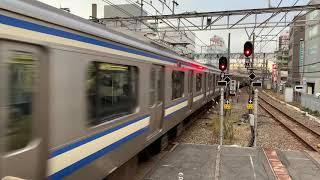 JR千葉駅9番線16時06分着1421F快速入線。