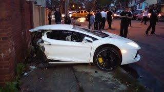 Lamborghini Crashes | Аварии Ламборгини