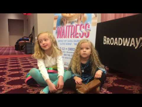 Two local girls win part of Lulu in the Waitress musical