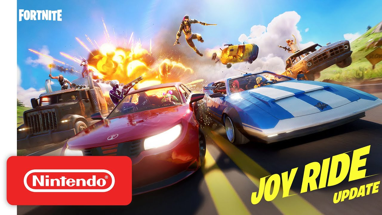 Get Behind the Wheel In The Joy Ride Update | Fortnite - Nintendo Switch