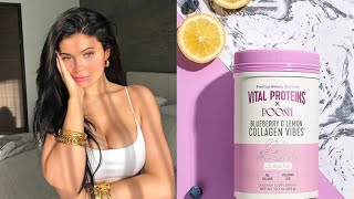 Kylie Jenner | Fave Collagen Supplement From Kourtney | Kylie Cosmetics Annual Cinco De Mayo Sale