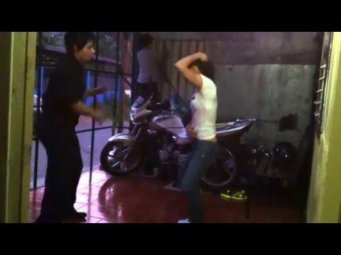 Así se baila la CUMBIA en Costa Rica - swing dance - Swing Criollo Dance