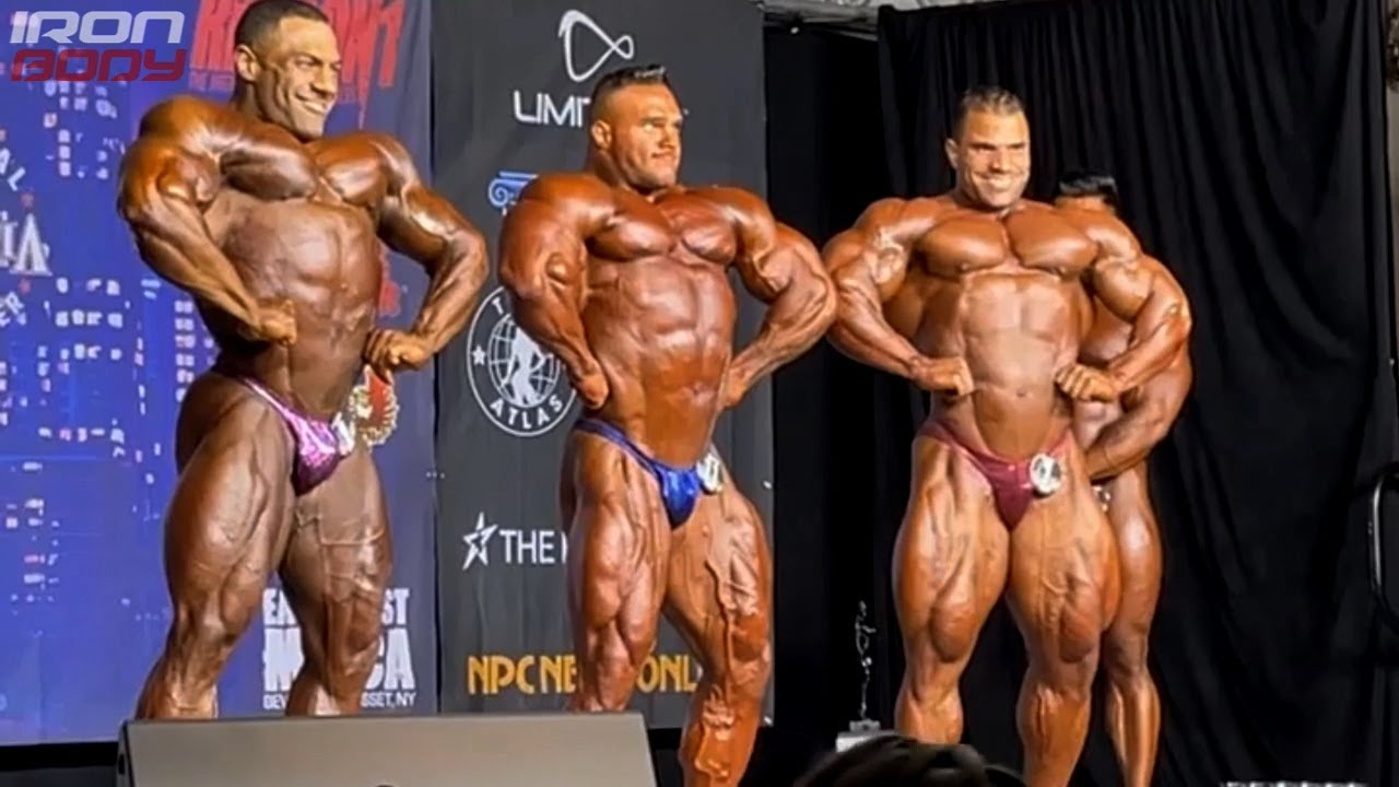 2021 New York Pro Top 3 (Luis Rodriguez, Nick Walker, Hassan Mostafa)