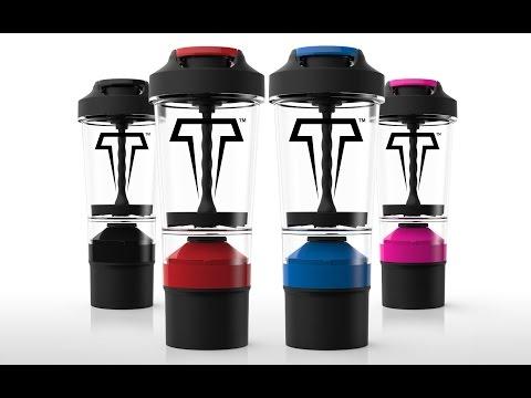 TITAN Mixer Bottle - The World's Most Revolutionary Mixer Bottle