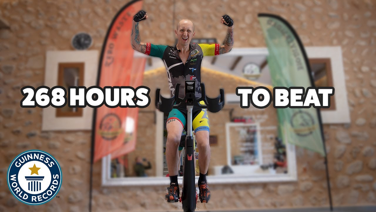 Longest time on an exercise bike - Guinness World Records