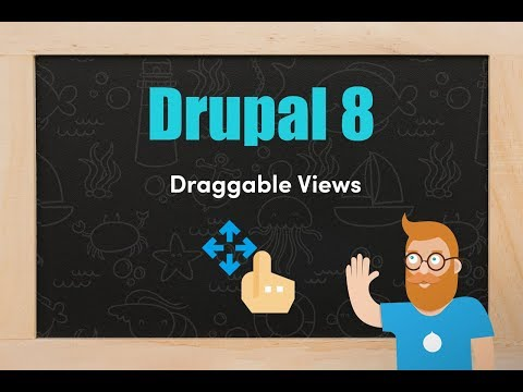 Draggable views in Drupal 8 thumbnail