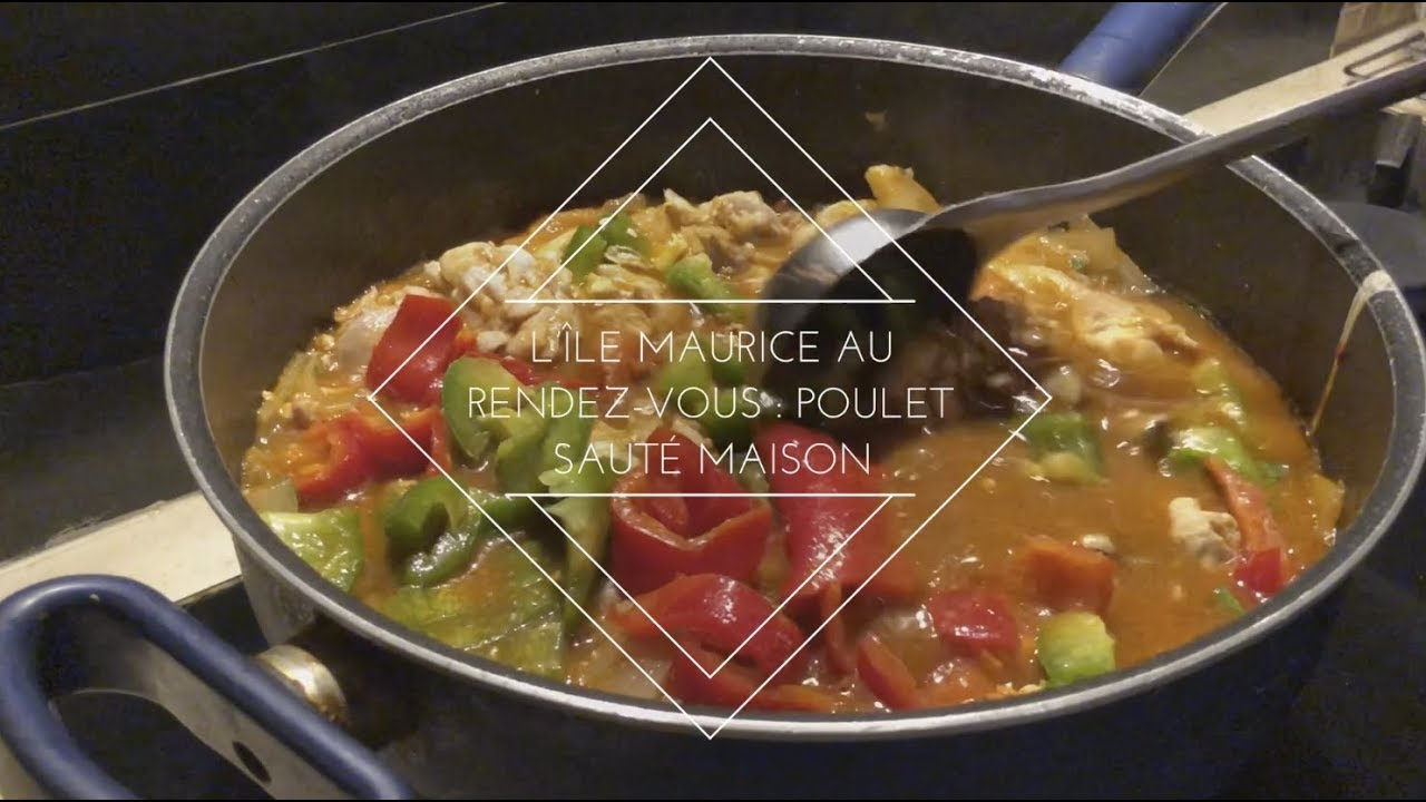 Poulet maison faon mauricien  Cuisine fusion mauricienne chinoise  YouTube