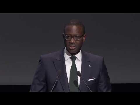 Tidjane Thiam au Forum des 100 2016