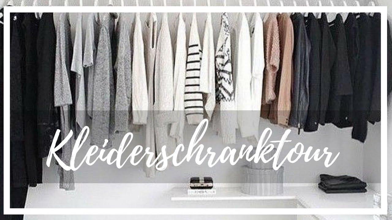 Kleiderschrank Tour 2017 Roomtour Update Aufbau Ausmisten Kleiderkreisel Viva Naomi