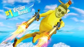 Getting The EPIC VICTORY ROYALE! (Use Code InfiniteYT)