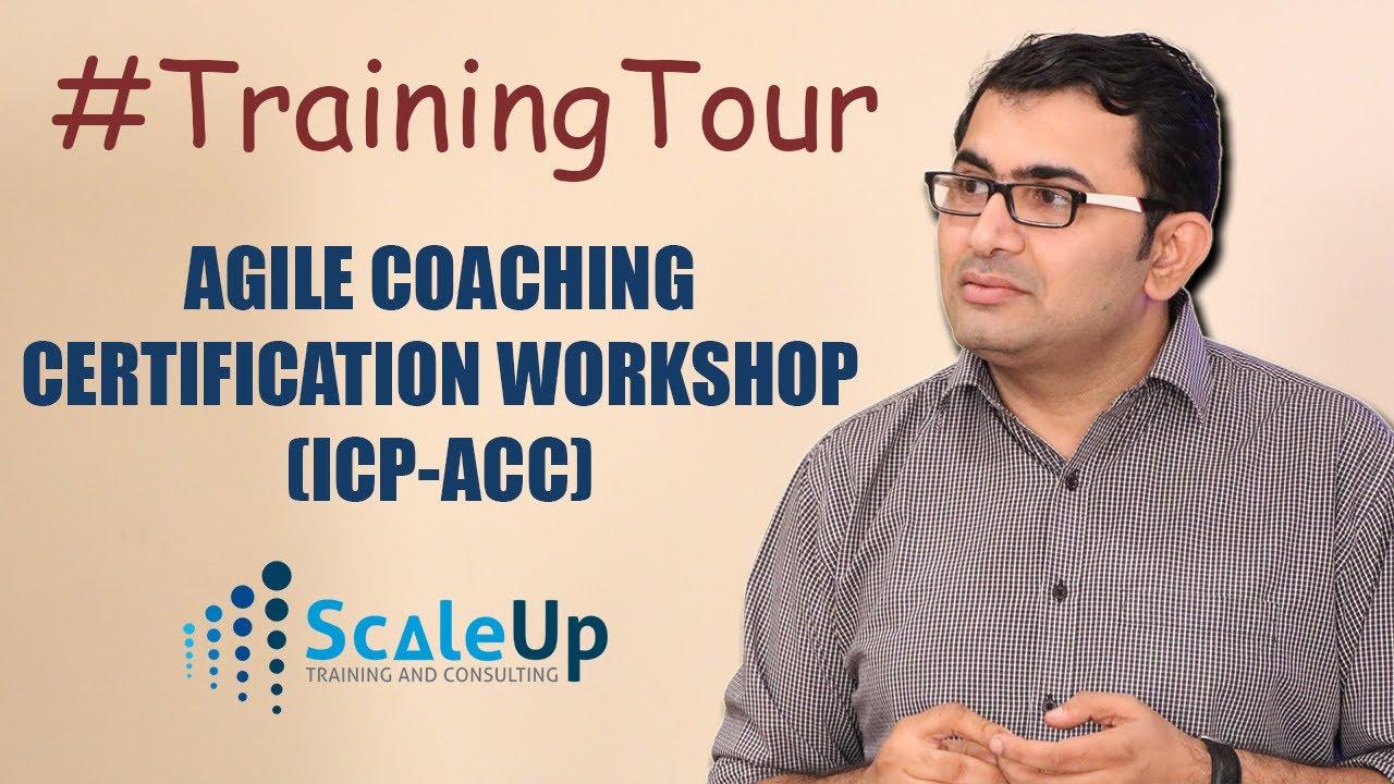 Trainingtour Agile Coaching Certification Workshop Pune June