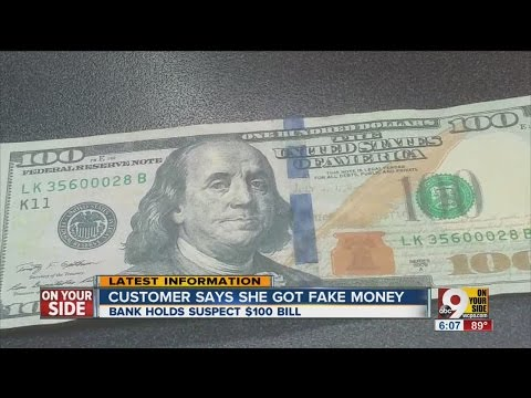 Real or counterfeit? Bank refuses to accept $100 bill from credit union