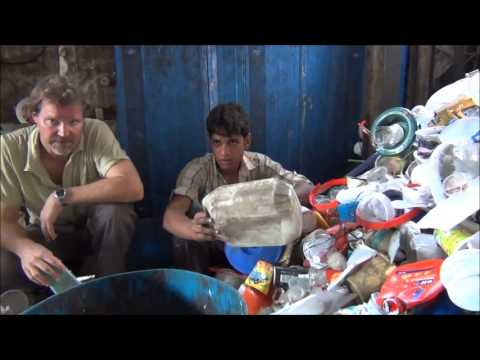 Slum Work = Recycling in Dharavi, Mumbai, India
