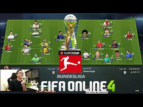 FIFA ONLINE 4: Giải Đấu Cực Căng ILF BUNDESLIGA SUPER CUP: BAYERN, DORTMUND,  LEIPZIG - PHẦN 1