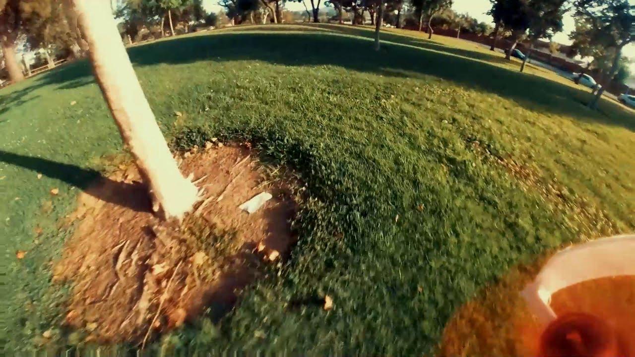 Park antics. Tinyhawk 2 Race + Insta360 GO картинки