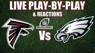 Falcons vs Eagles | Live Play-By-Play & Reactions