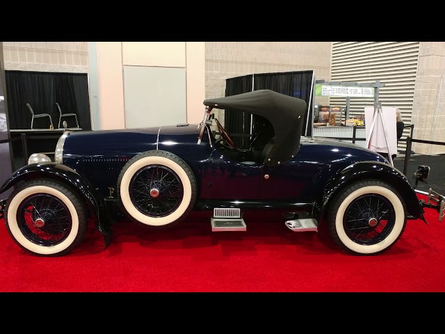 1926 BLUE KISSEL 8 75 SPEEDSTER CONVERTIBLE @ PHILADELPHIA CONVENTION CENTER CAR SHOW