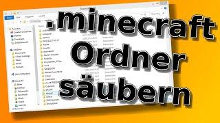 .minecraft Ordner säubern | Minecraft stop working fix [Tutorial]